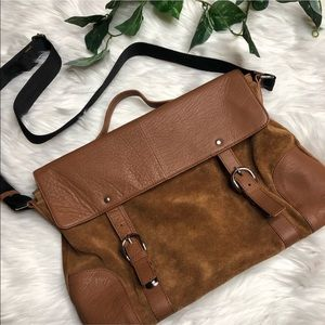 ASOS Real Leather Satchel